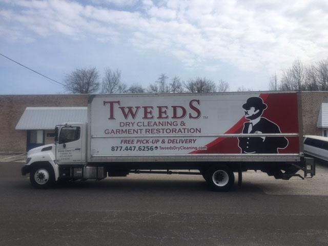 Tweeds Dry Cleaning, pickup